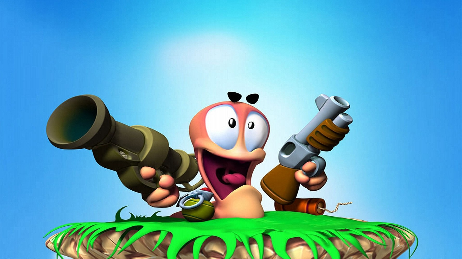 Worms Game Backgrounds