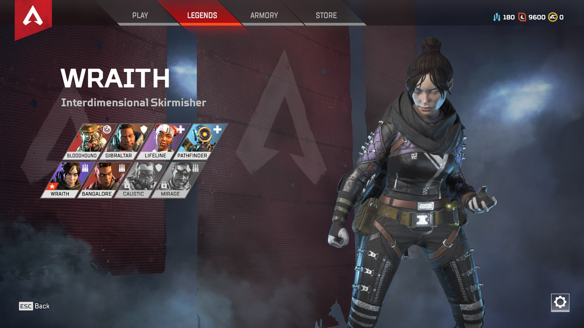 Apex Legends Wraith Wallpaper
