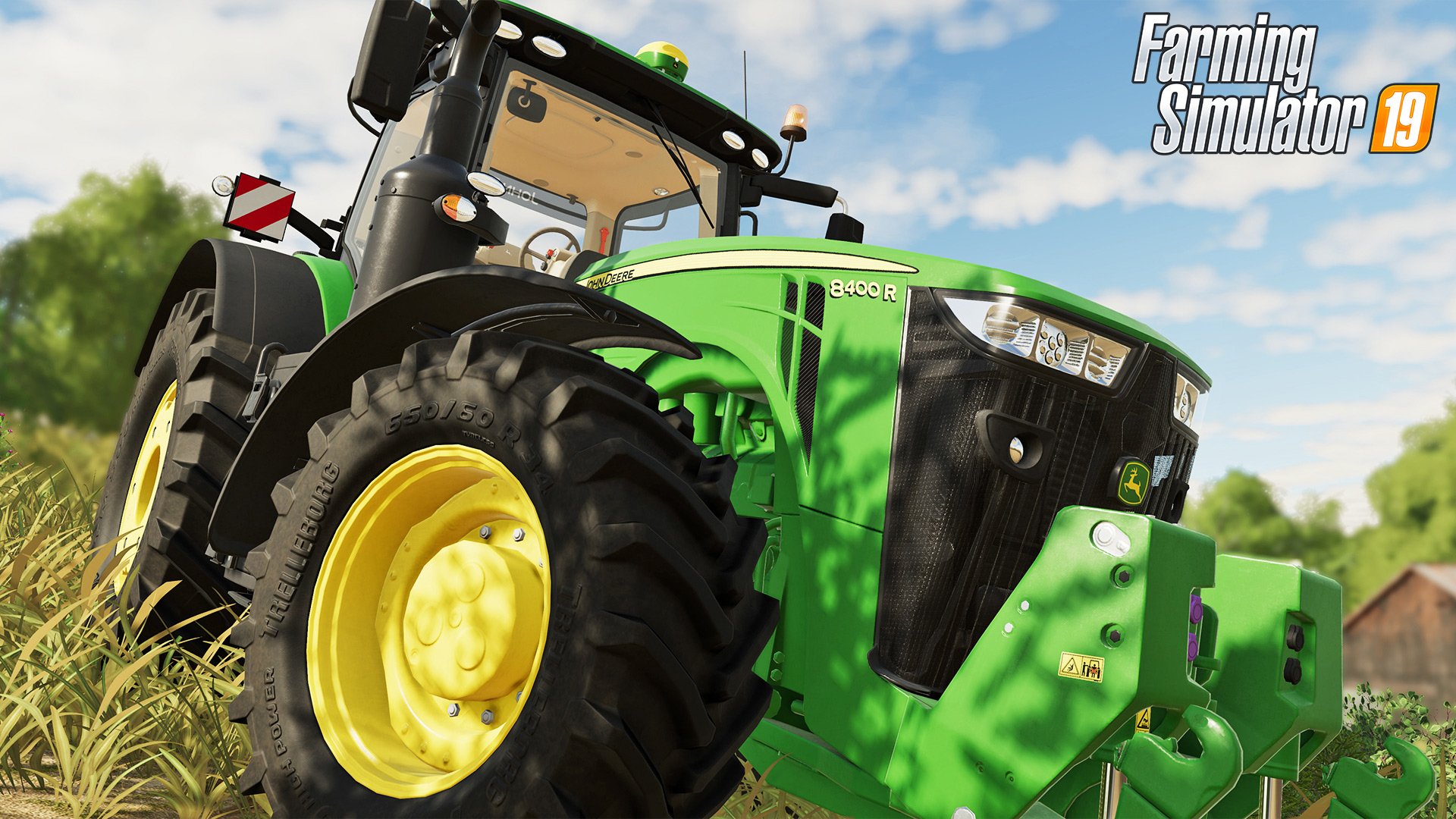 Farming Simulator 19 PS4 Wallpaper