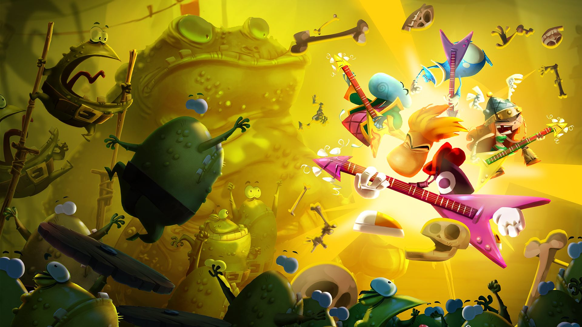 Rayman Legends HD