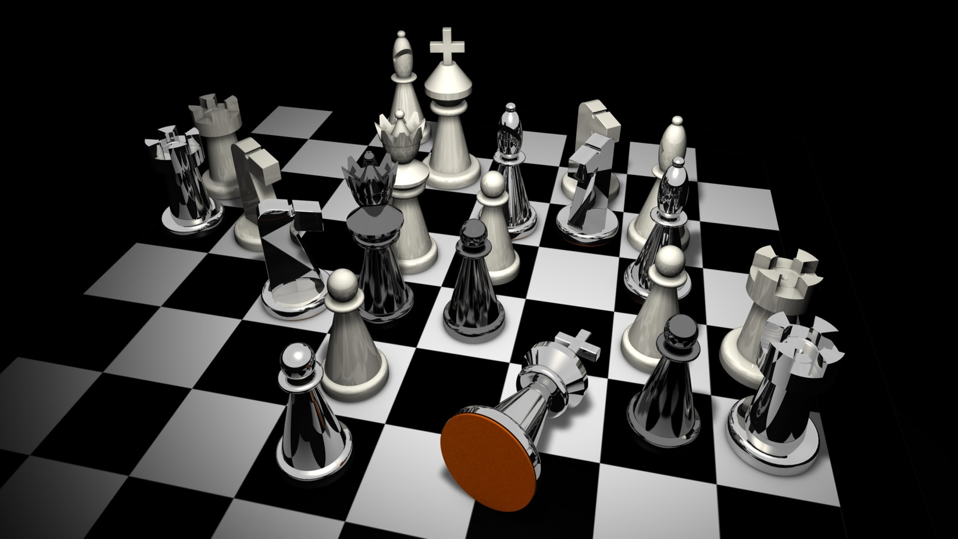 Chess Online Game Wallpaper