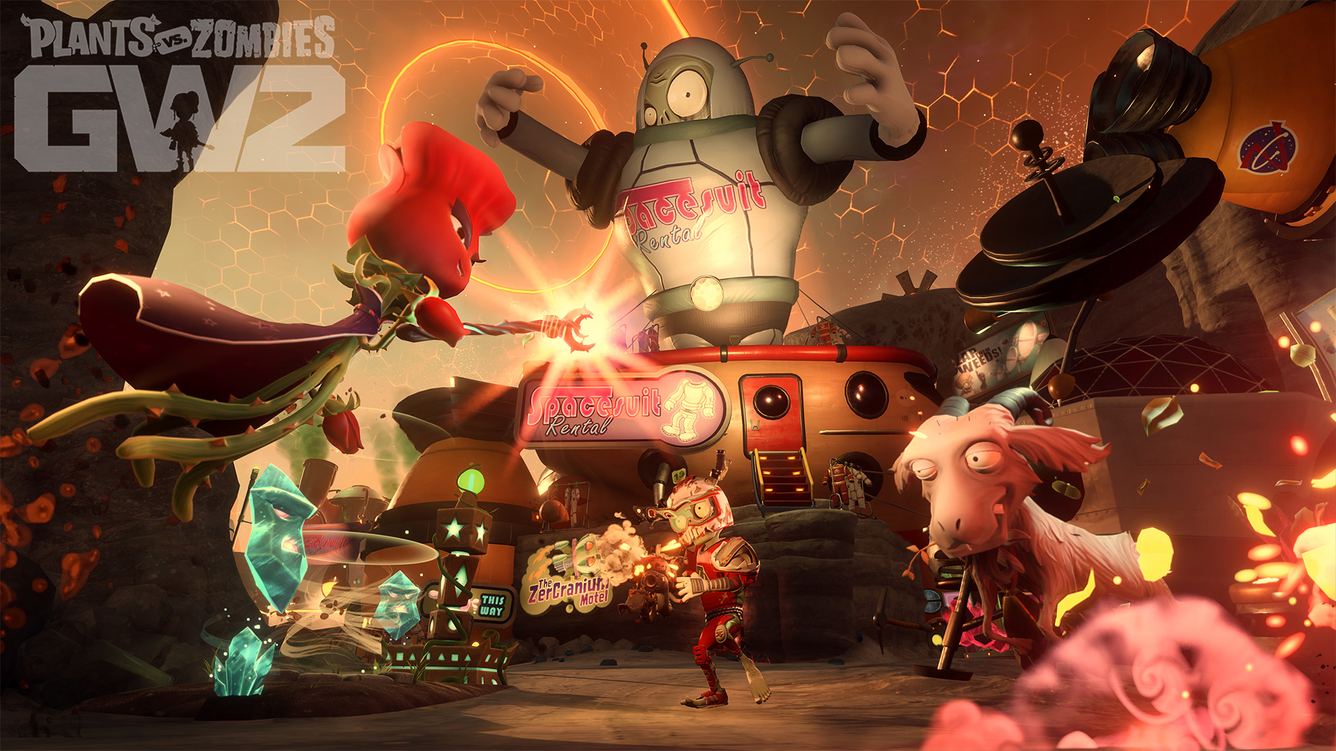 Plants Vs. Zombies Garden Warfare 2 Wallpaper