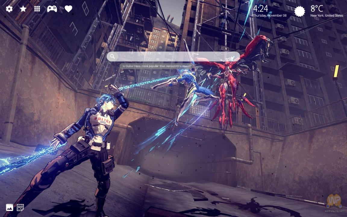 Astral Chain Wallpapers & Background Tab