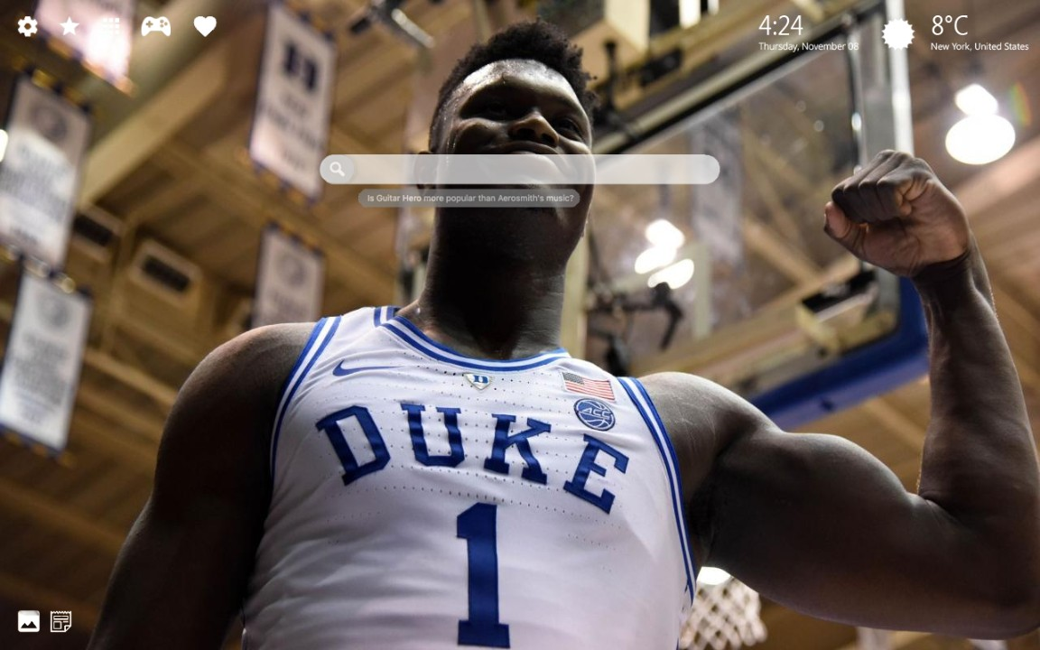 Zion Williamson Wallpaper HD & Theme Zion Williamson Duke & Zion NBA Wallpapers