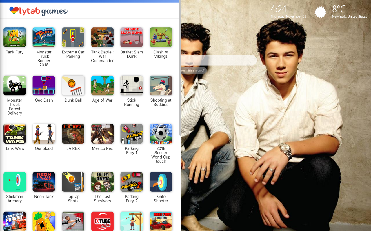 The Jonas Brothers Games