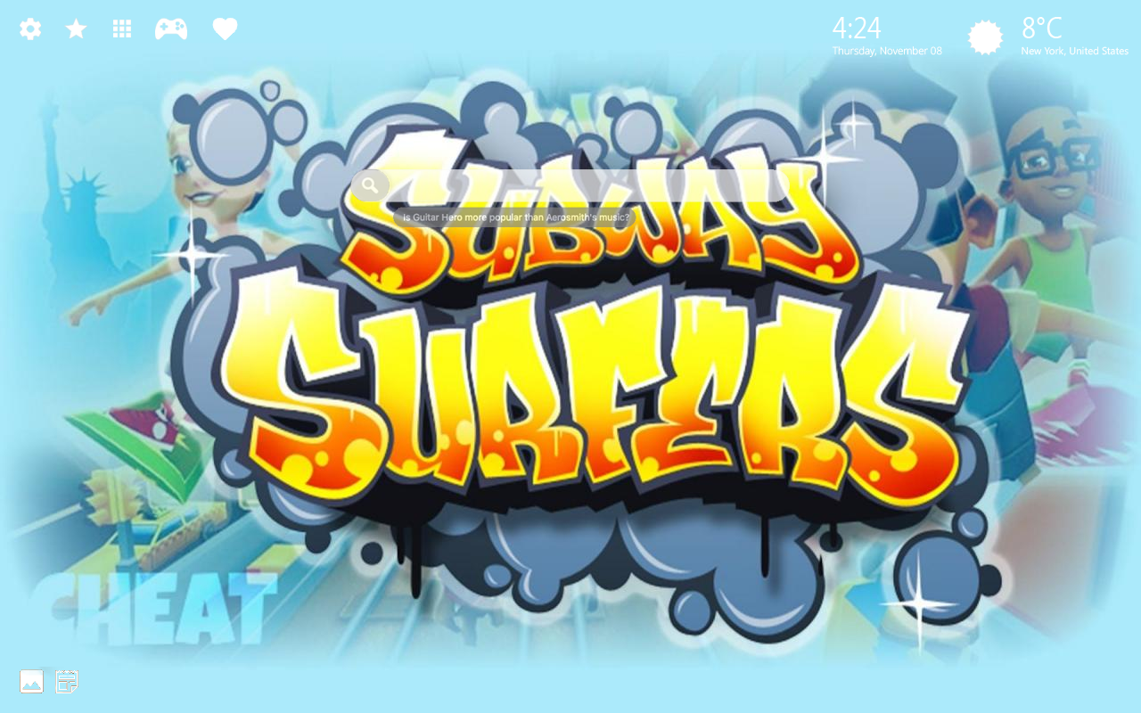 Subway Surfers Home