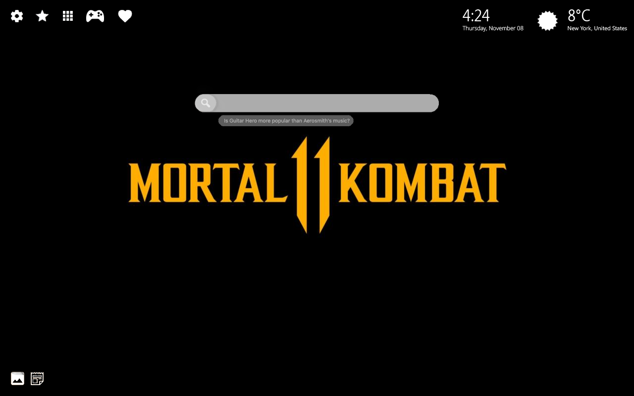 Mortal Kombat 11 Home Wallpaper