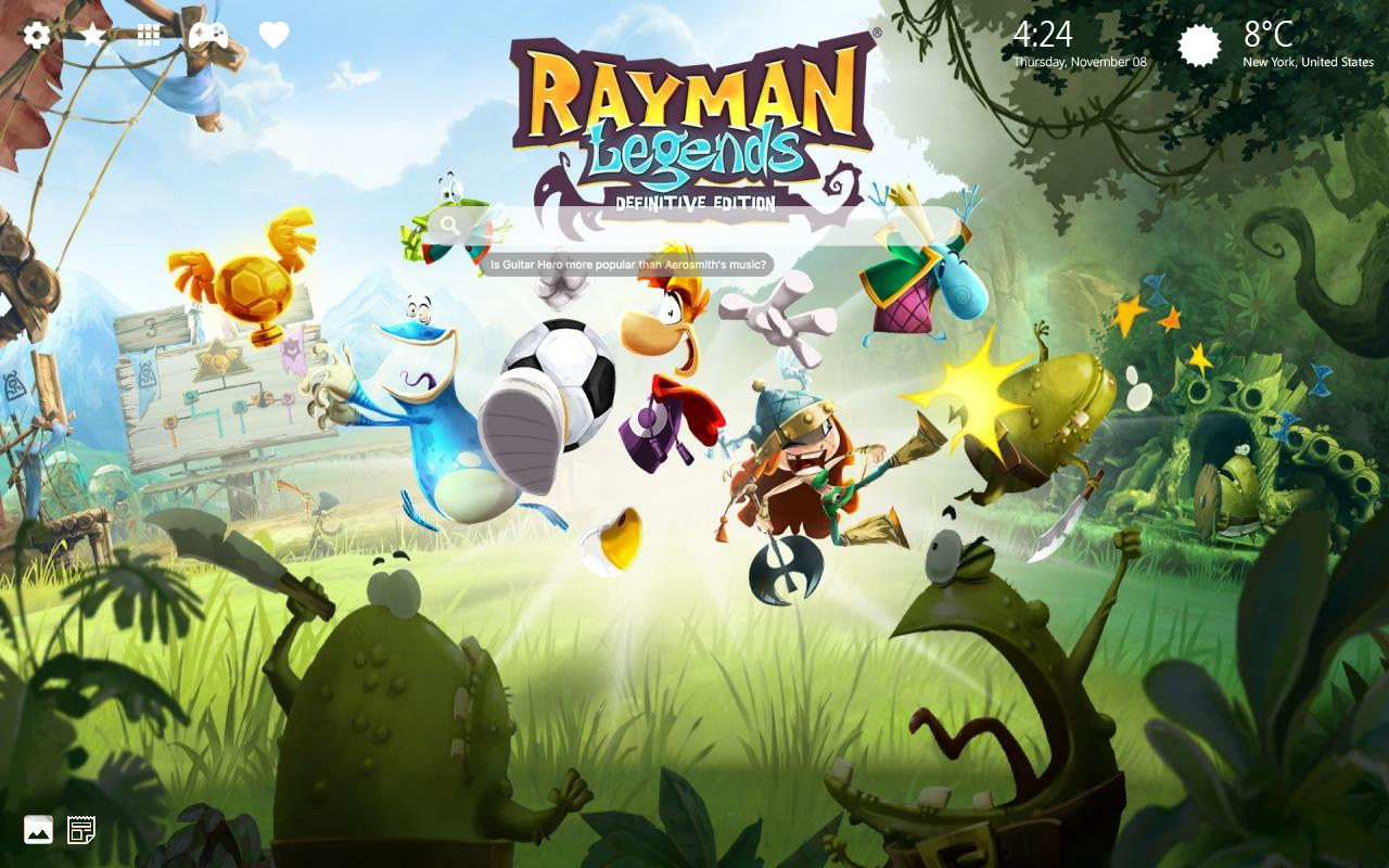 Rayman Legends Home