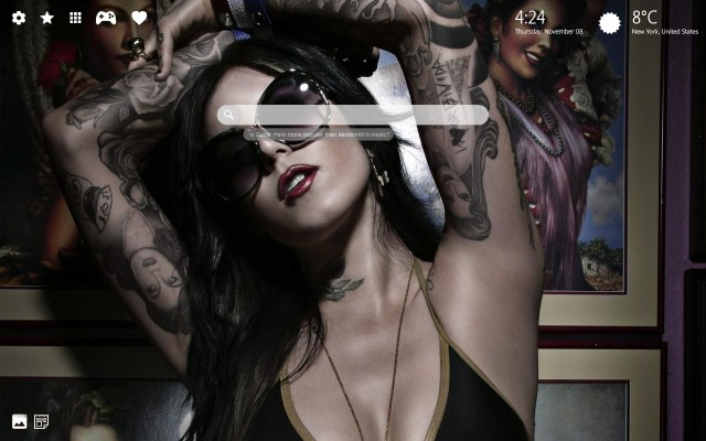 amazing Kat Von D wallpapers