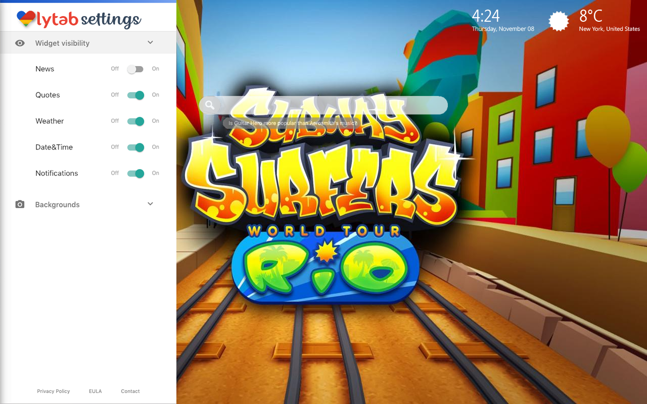 Subway Surfers Bookmarks