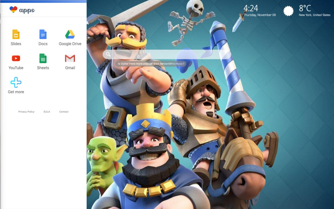 Clash Royale Wallpapers & HD Theme Clash Royale Deck Arena Wallpapers