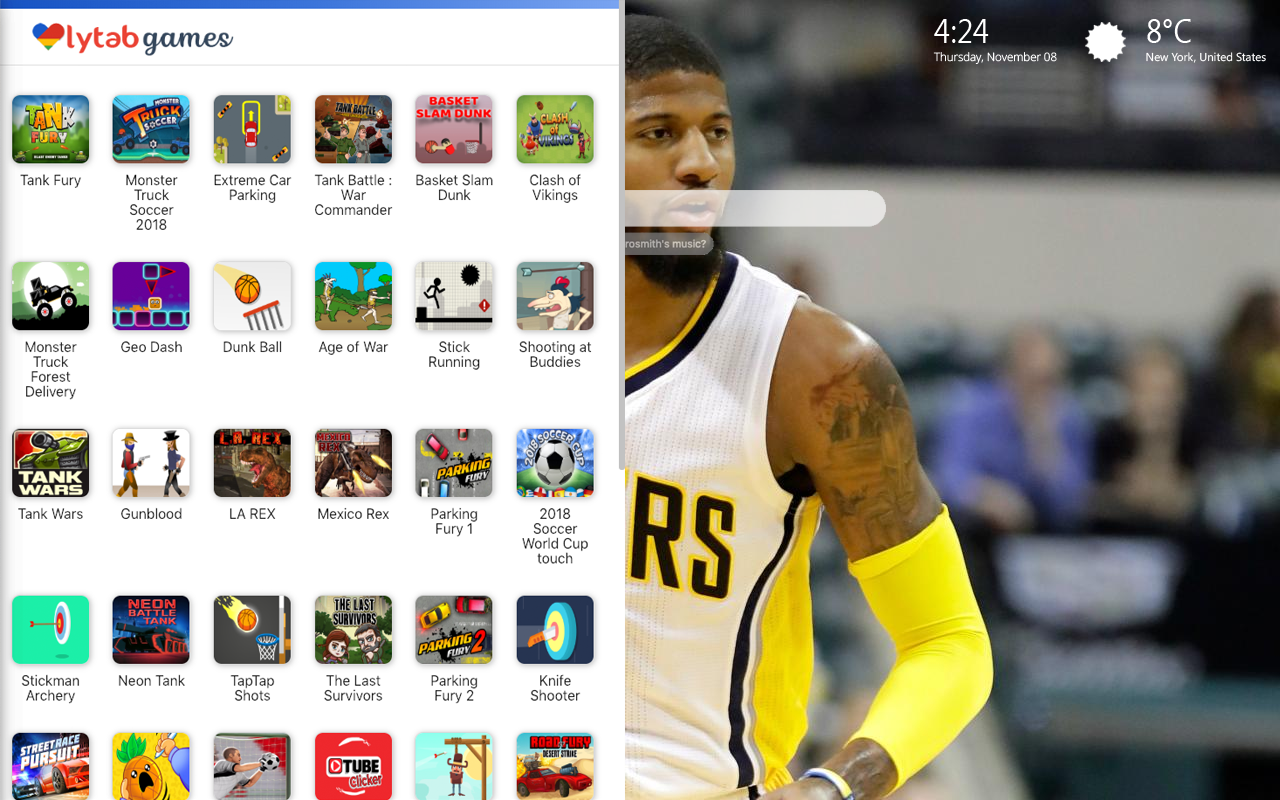 Paul George Games