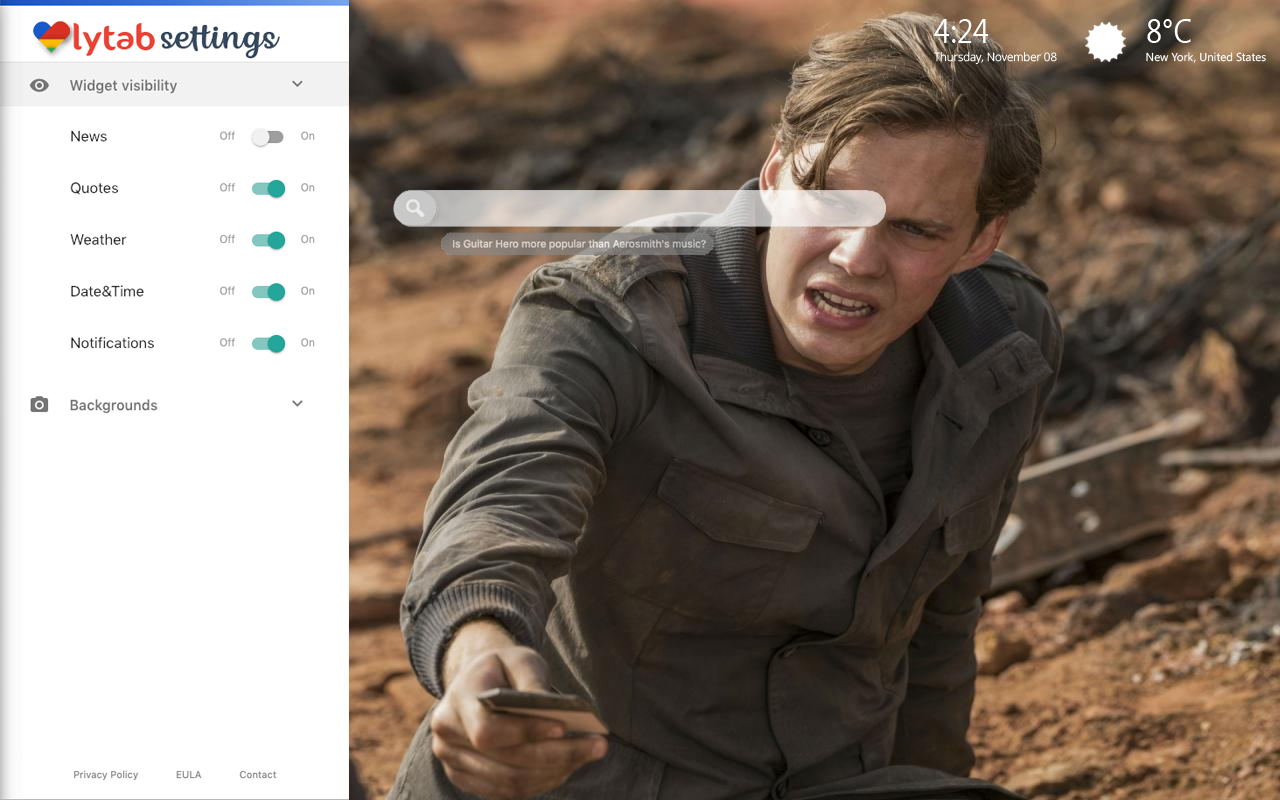 Bill Skarsgård Bookmarks