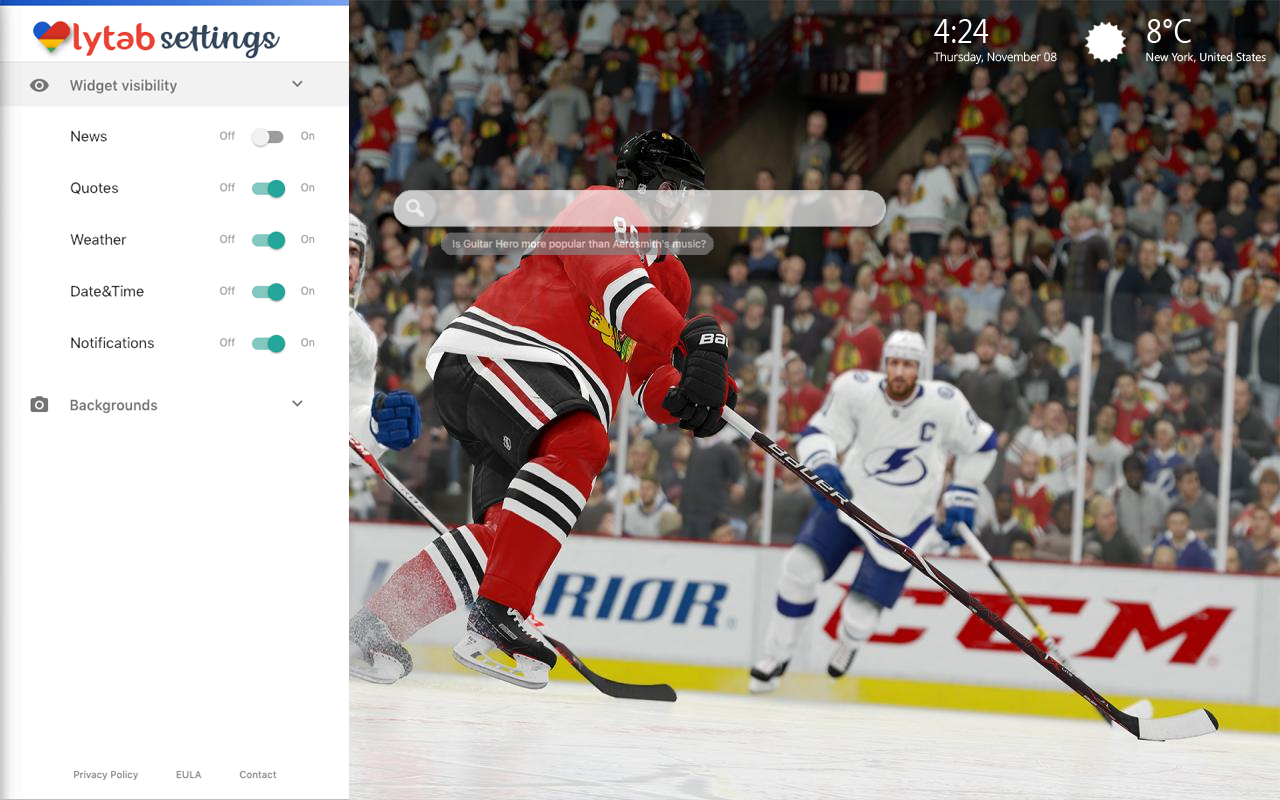 NHL 19 PS4 Bookmarks