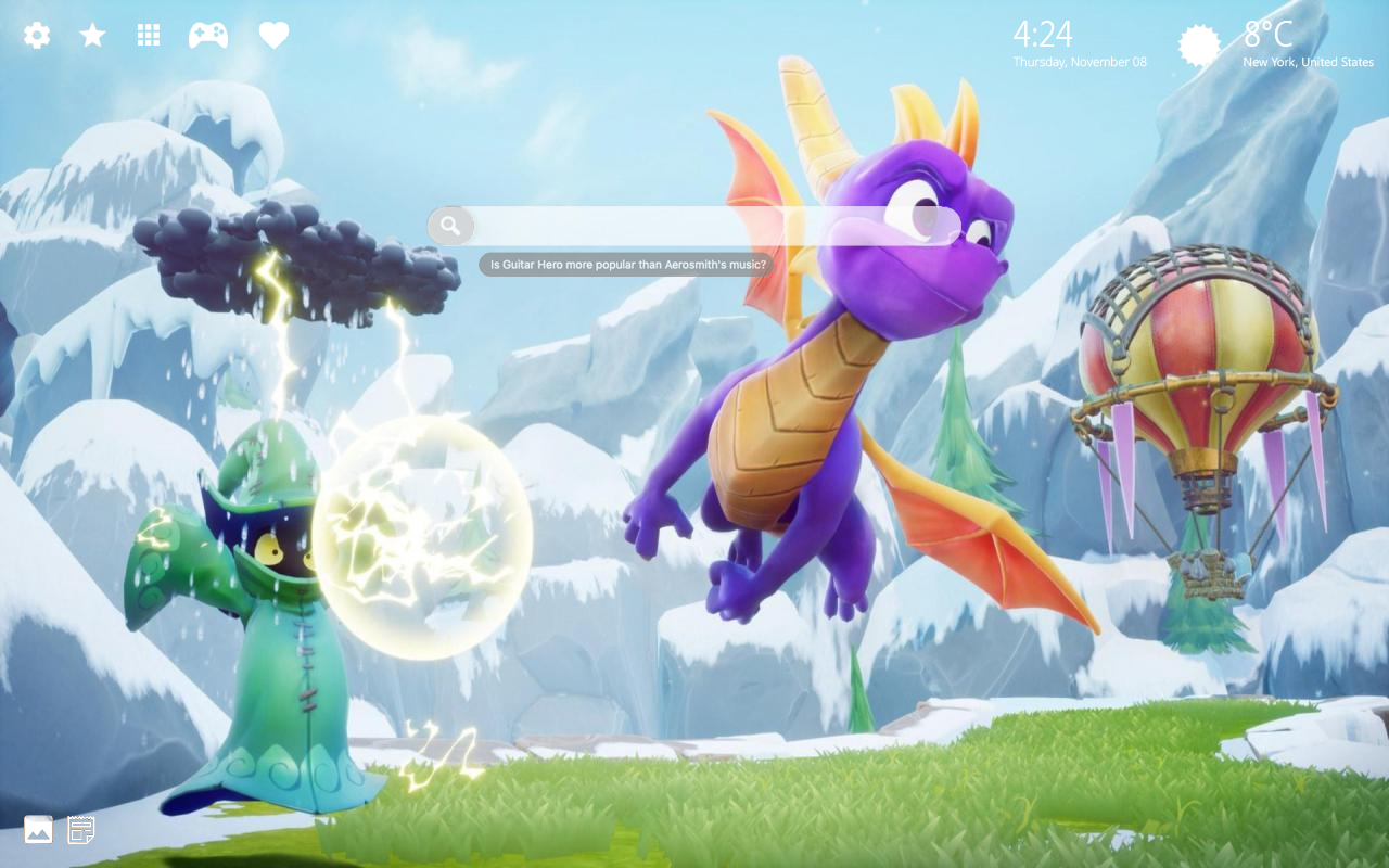 Spyro Reignited Home