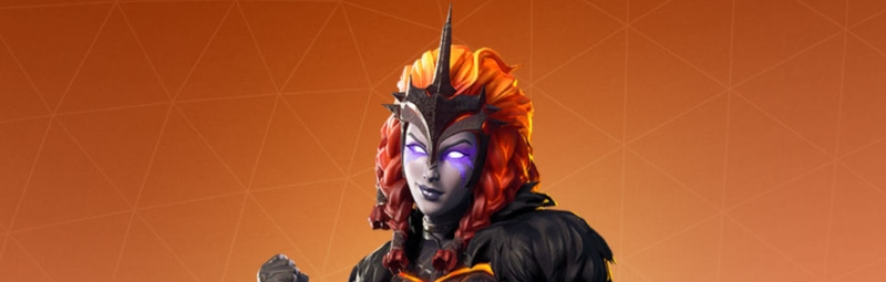 Molten Valkyrie Fortnite Skin HD