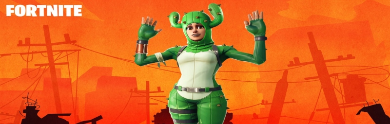 Prickly Patroller Fortnite Skin 4K