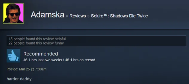 sekiro game review