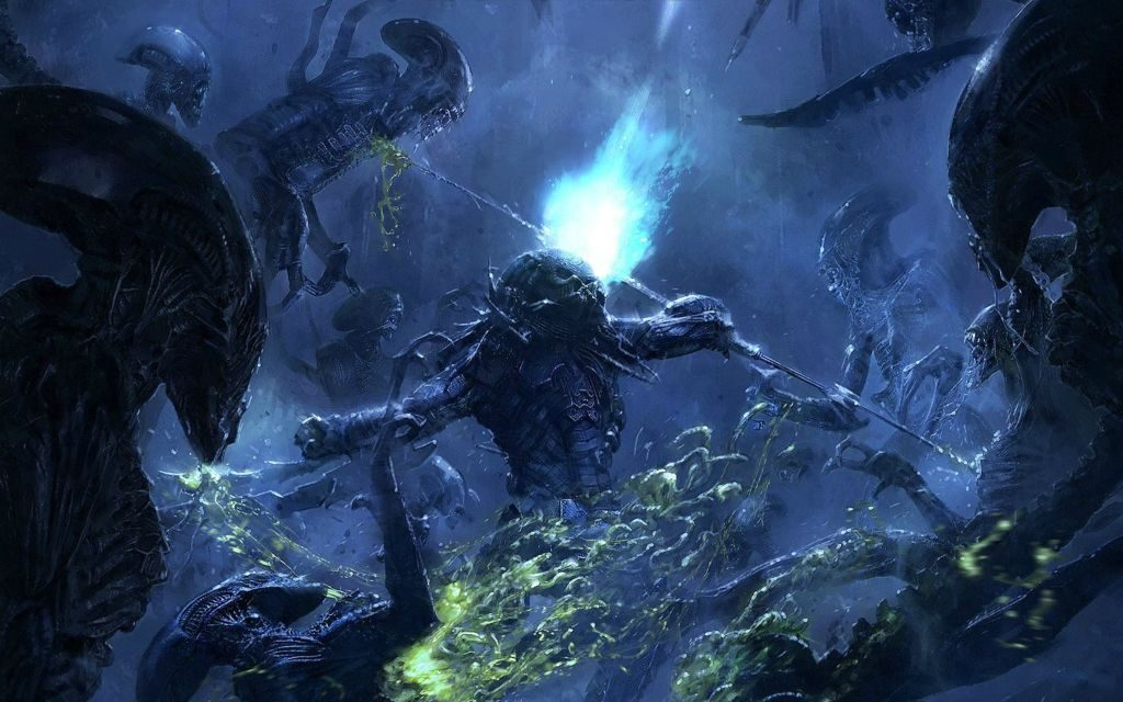 Alien vs Predator Wallpaper HD New Tab