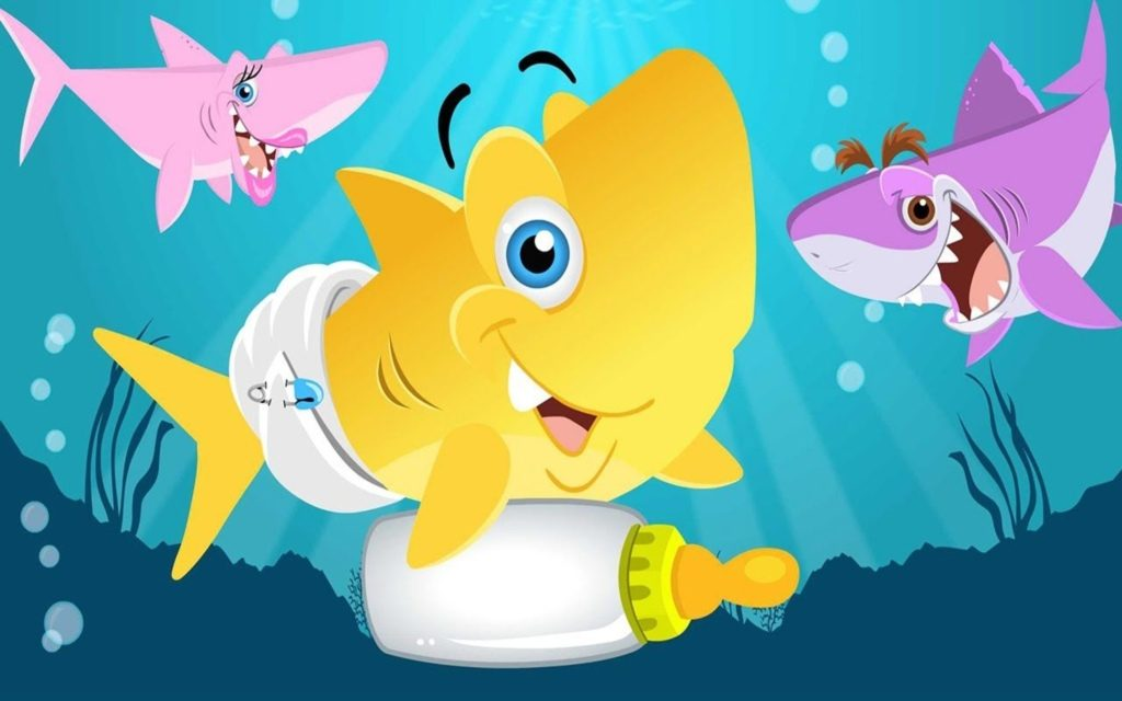 Baby Shark Pinkfong Wallpapers – The Tune's Origins Are Unknown?!
