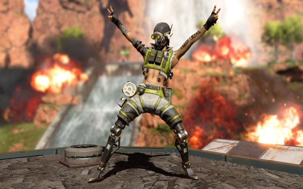 Octane Apex Legends Wallpapers + All Abilities!