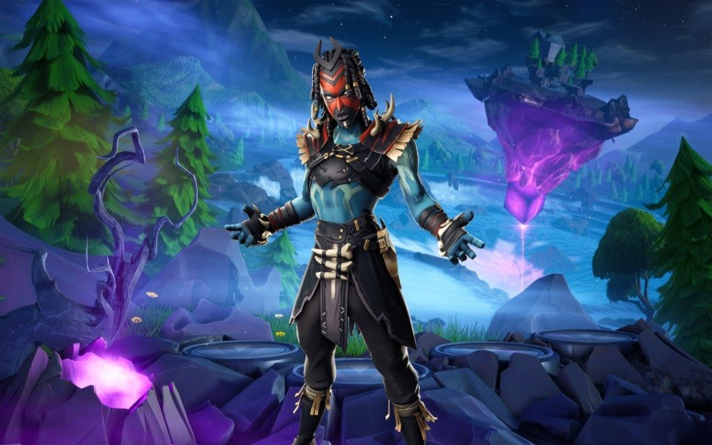Shaman Fortnite Skin HD Wallpapers & Backgrounds!