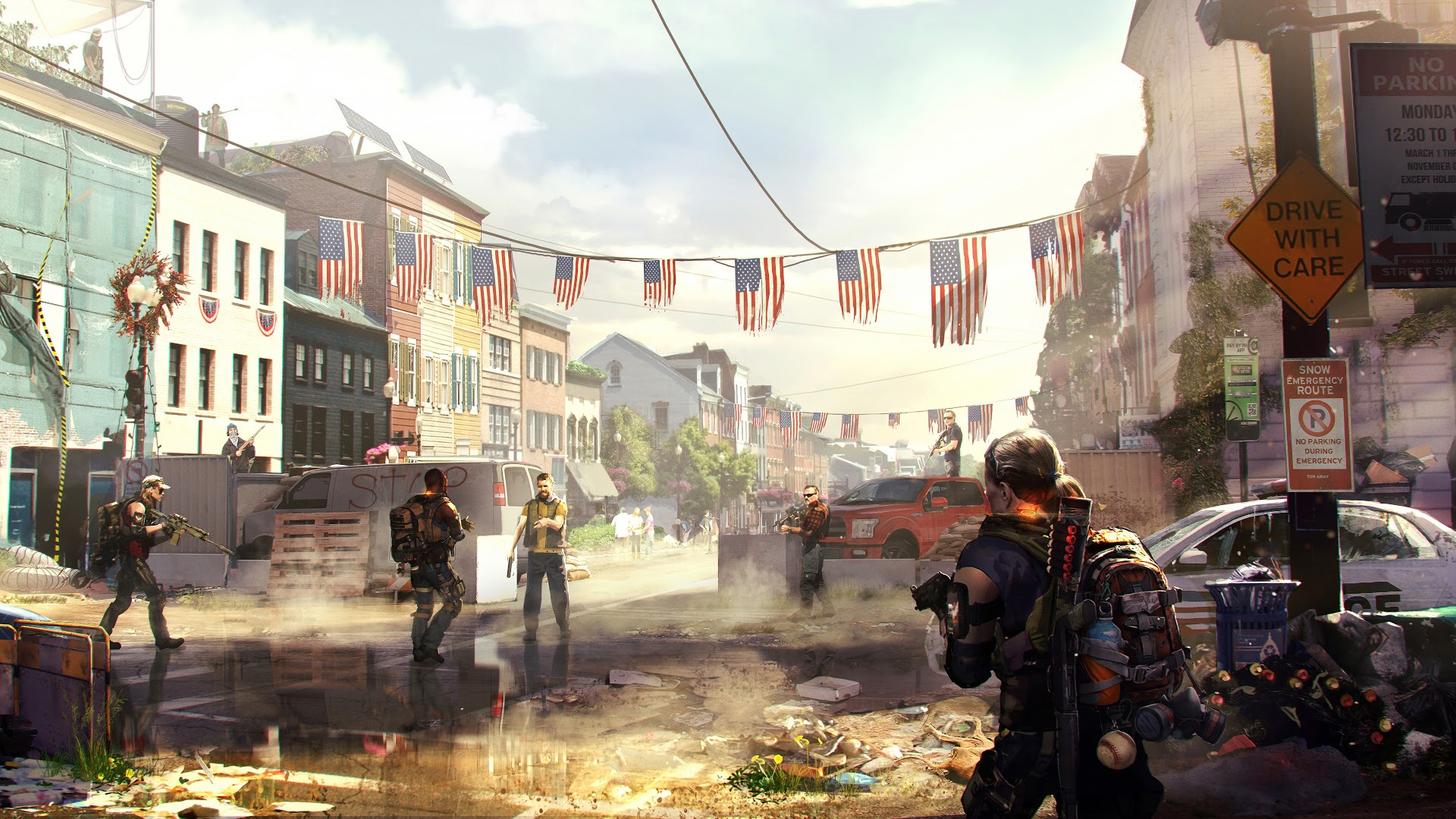 The Division 2 Beta Wallpaper