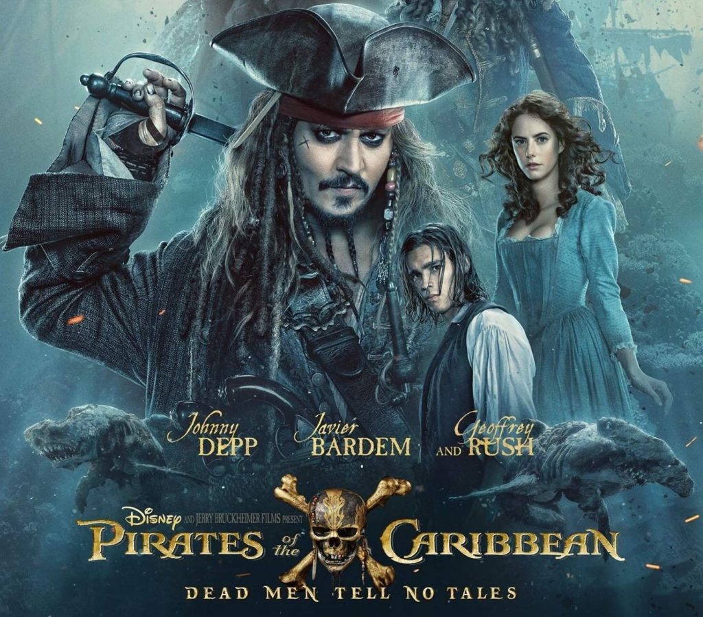 Pirates of the Caribbean Theme New Tab