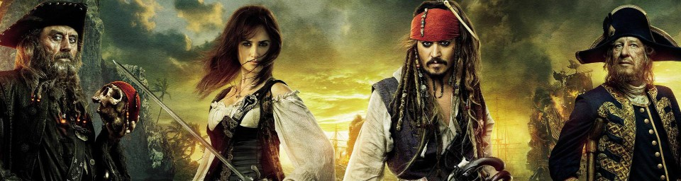 Amazing Pirates of the Caribbean Wallpapers