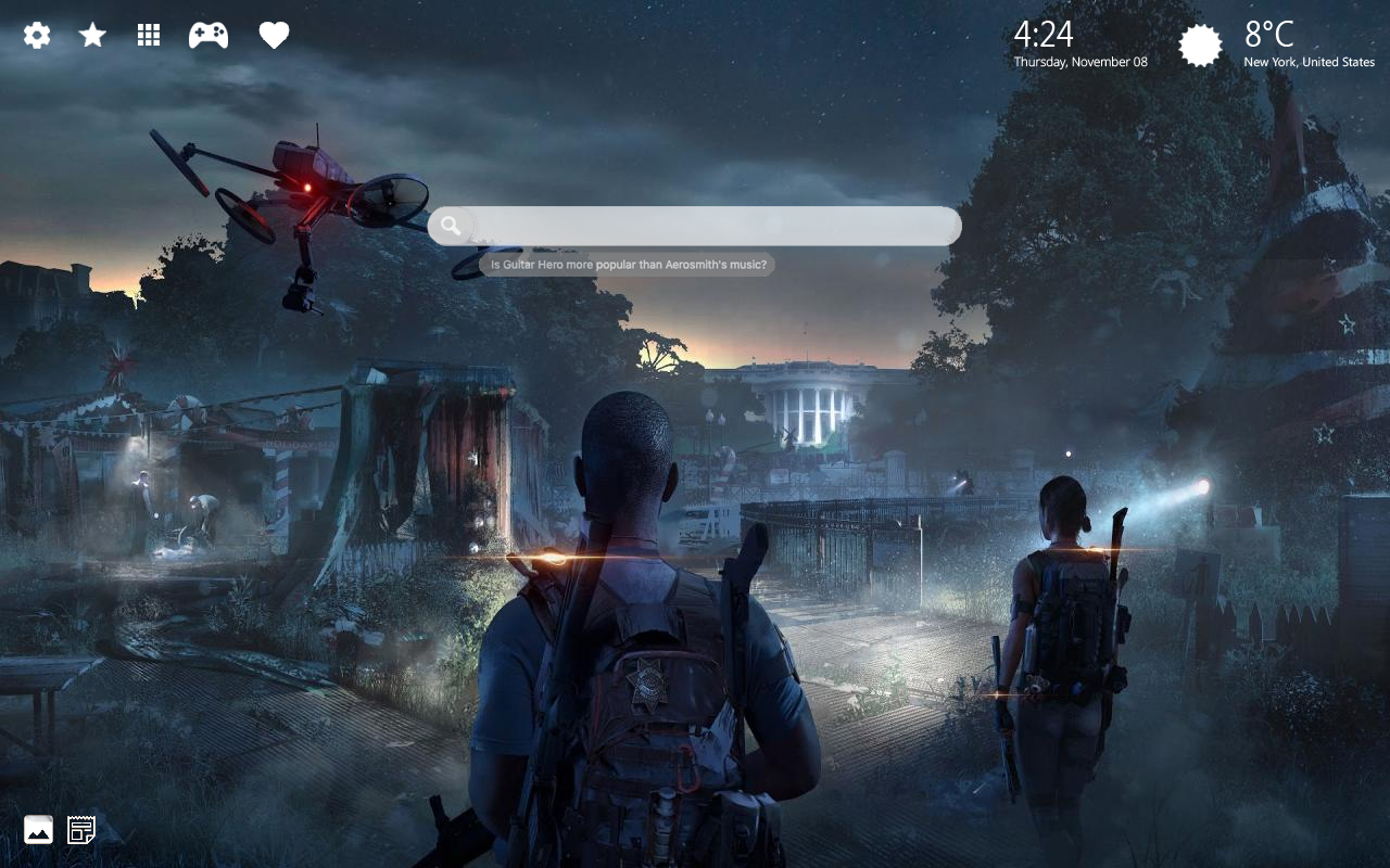 The Division 2 Beta Home