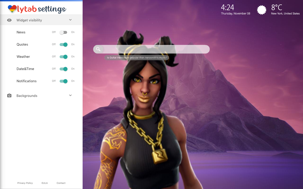 Luxe Fortnite Skin Bookmarks