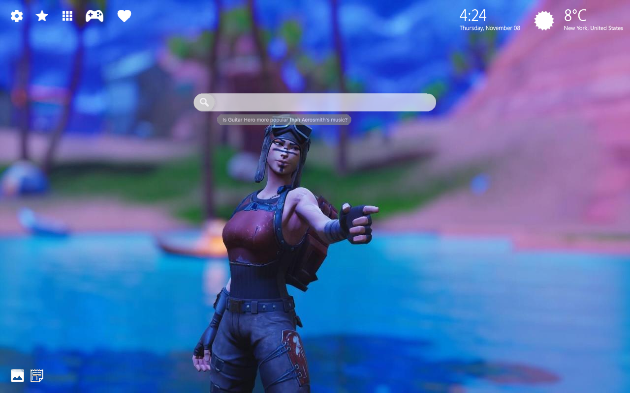 Renegade Raider Fortnite Home