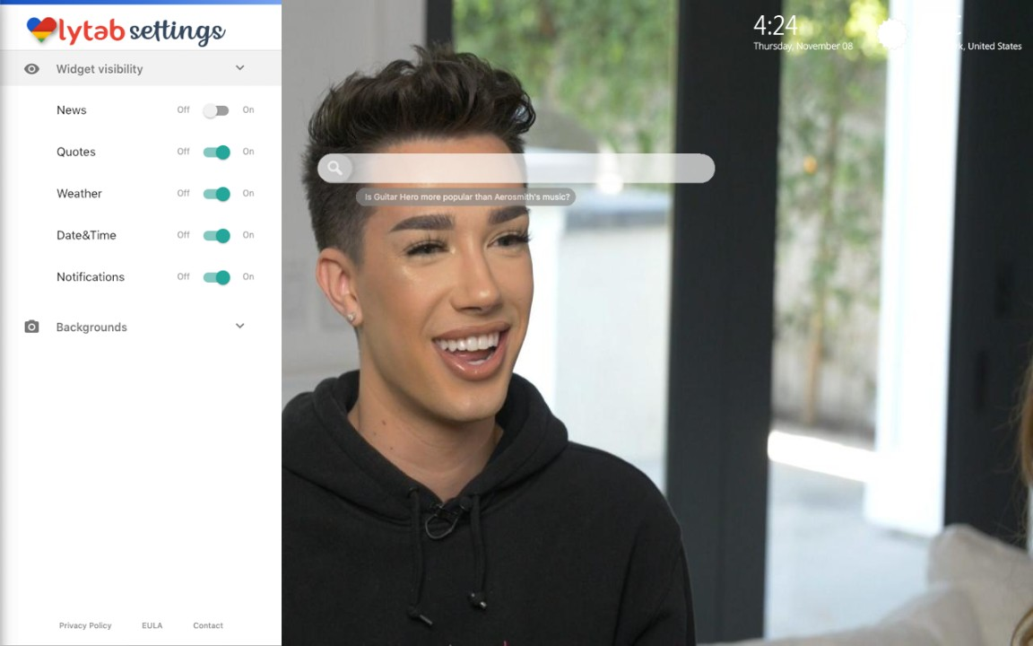 James Charles Wallpaper and James Theme