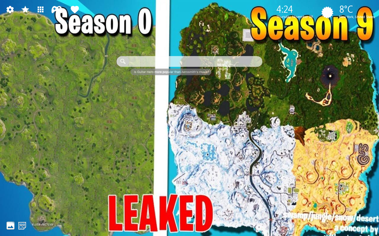 Fortnite Season 9 Home