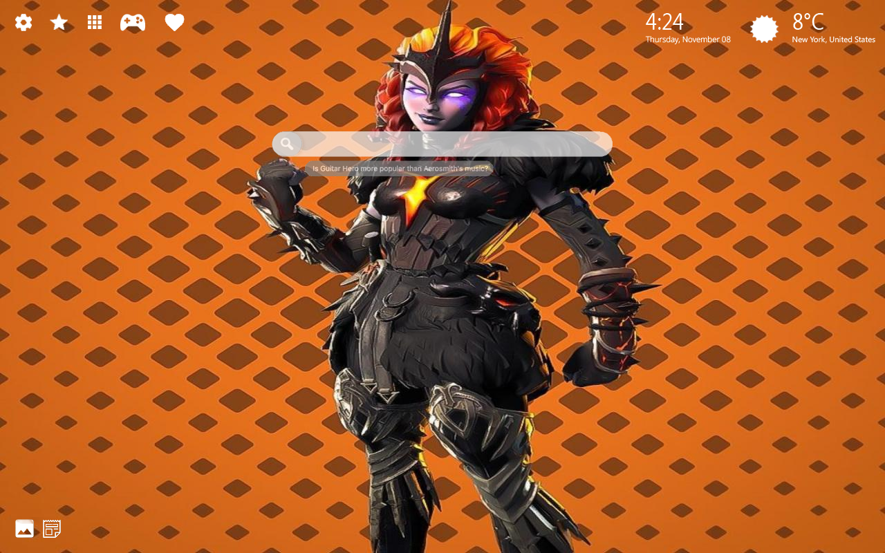 Molten Valkyrie Fortnite Skin Home