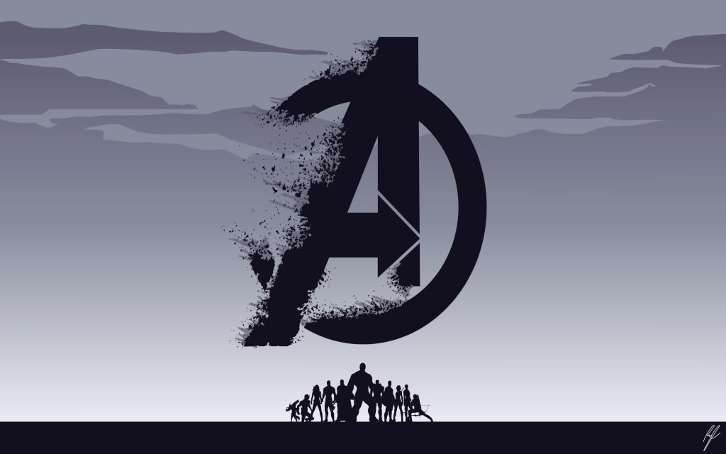 Marvel Avengers Minimalist Wallpapers & Backgrounds + Surprising Avenger Facts!