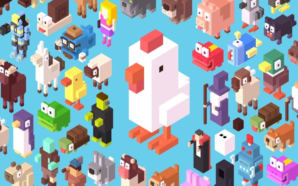 Crossy Road Characters Wallpapers & Crossy Road Facts!