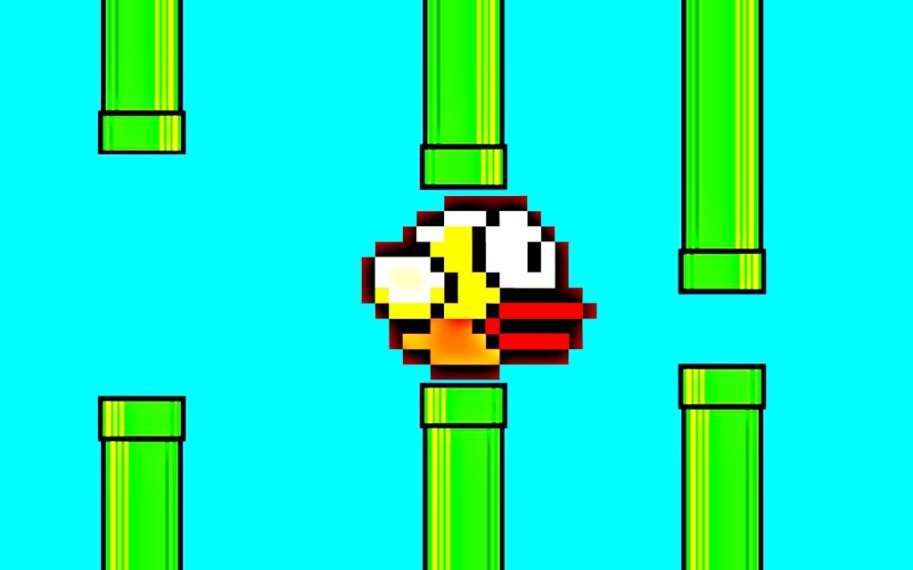 Flappy Bird Game Wallpaper & Backgrounds!