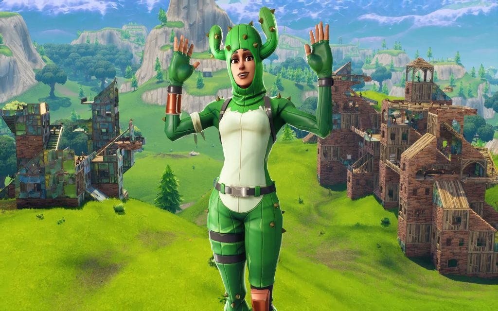 Prickly Patroller Fortnite Skin Wallpaper & Backgrounds!