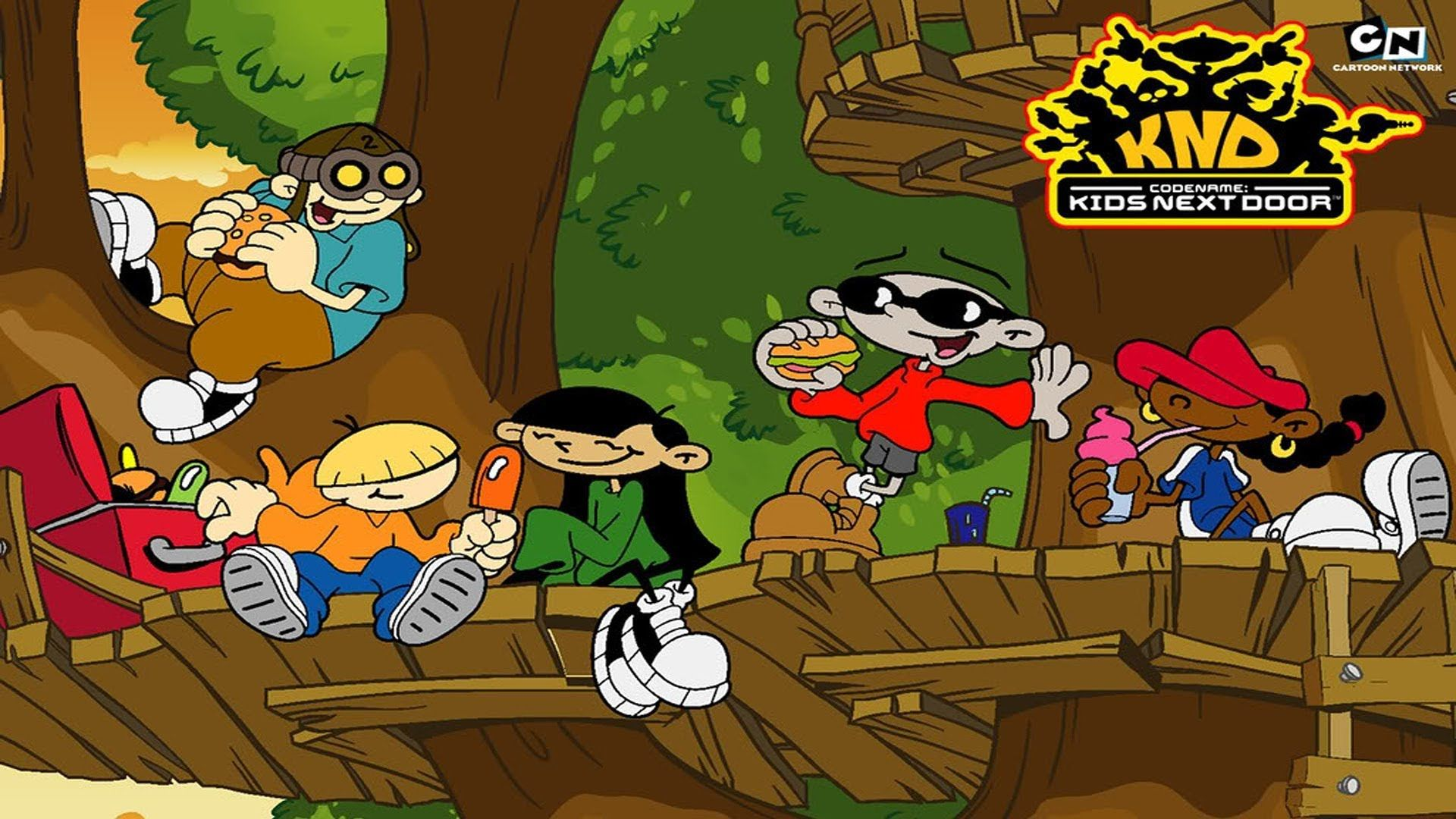 Codename Kids Next Door Cartoon Network