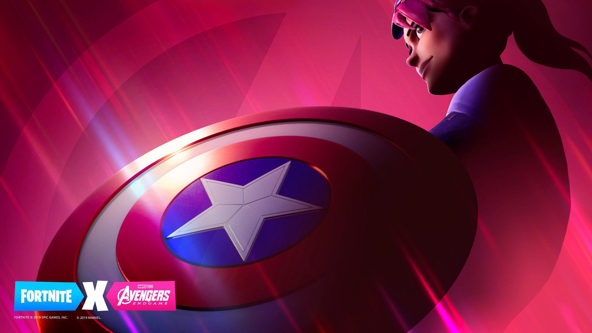 Avengers Endgame Fortnite HD Wallpaper