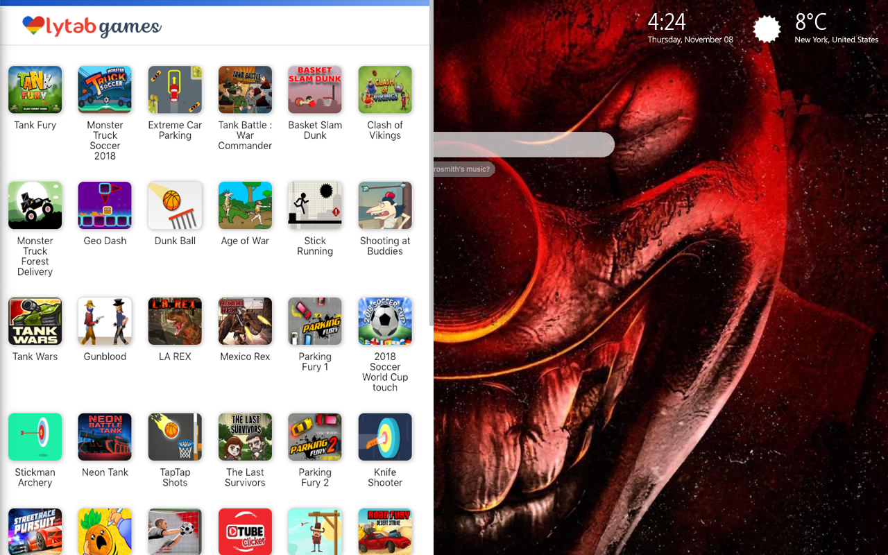 Scary Clowns & Creepy Clowns Games Wallpaper