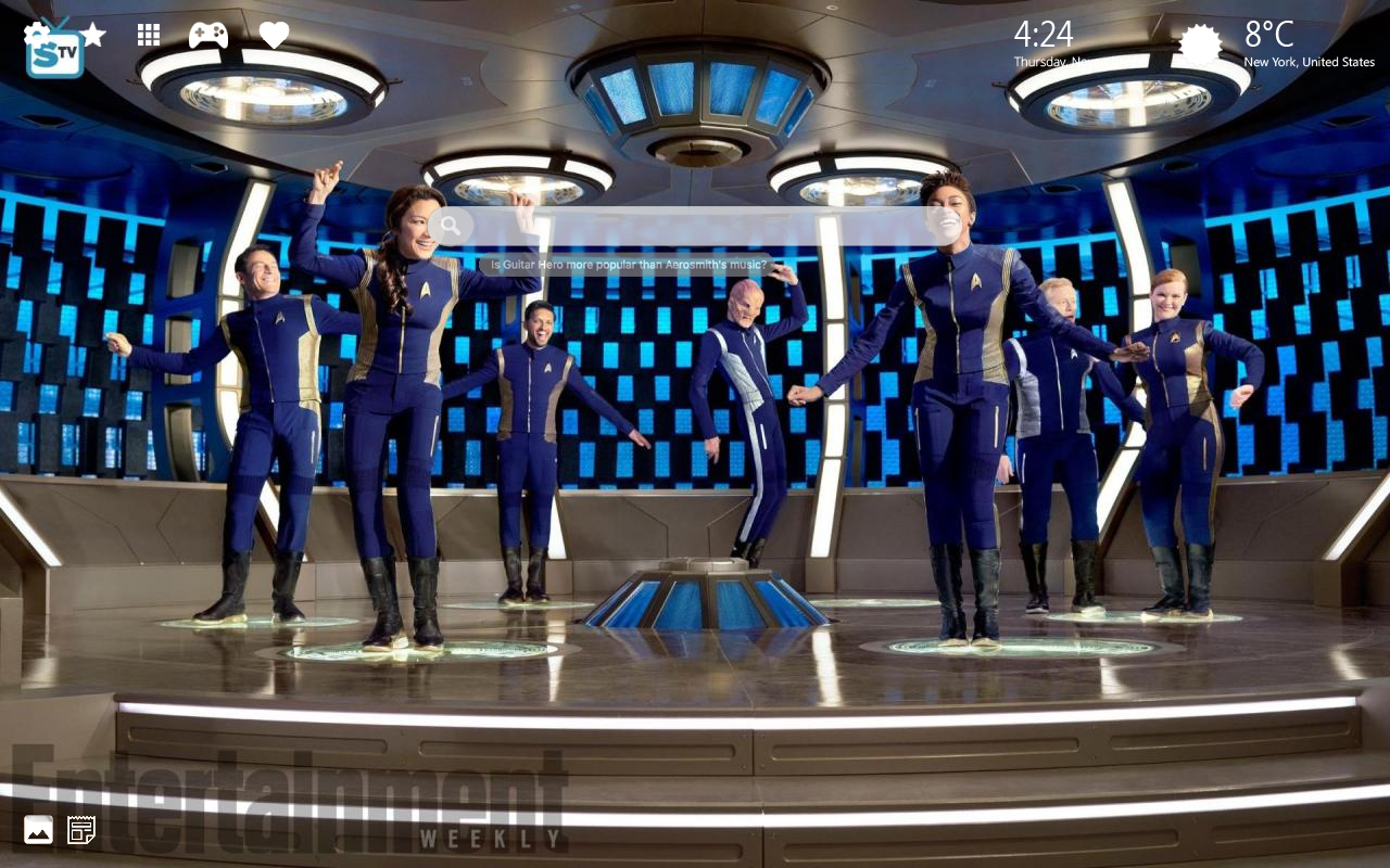 Star Trek Discovery Home