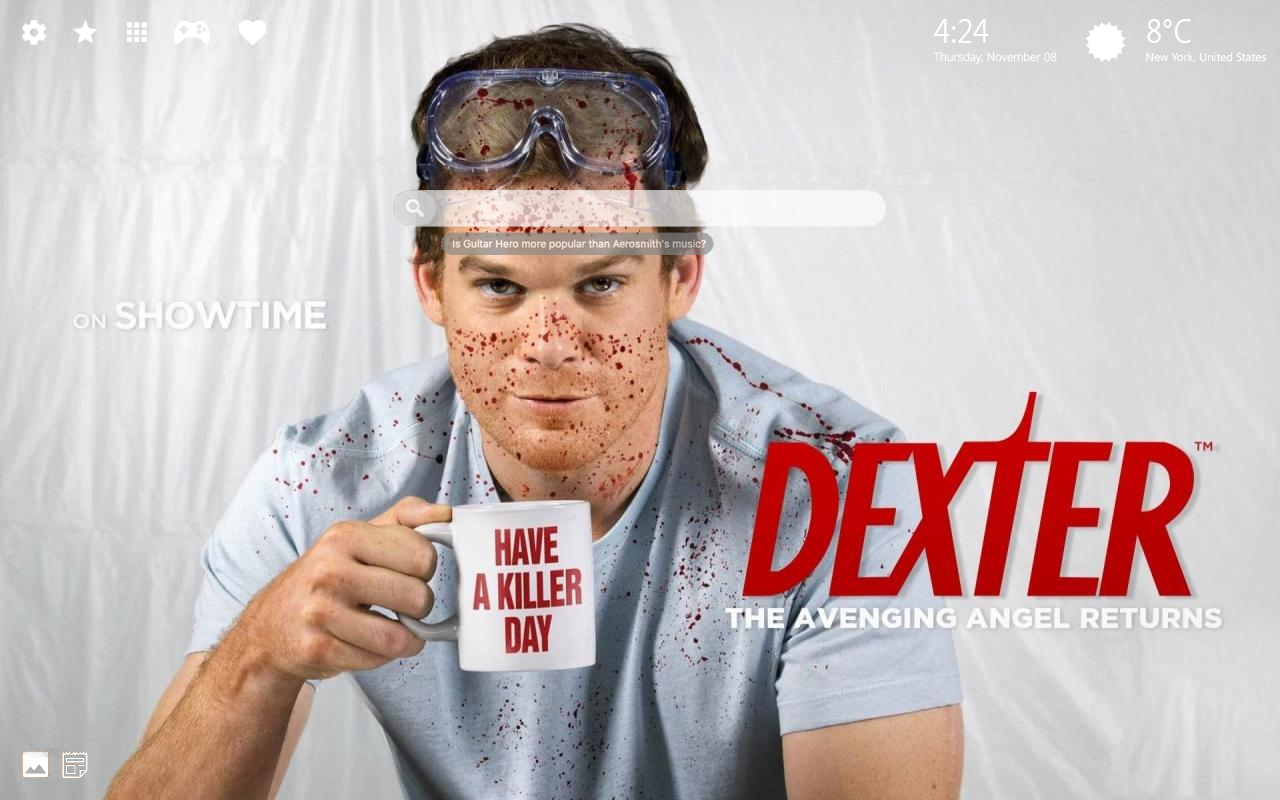 Dexter Home Wallpaper