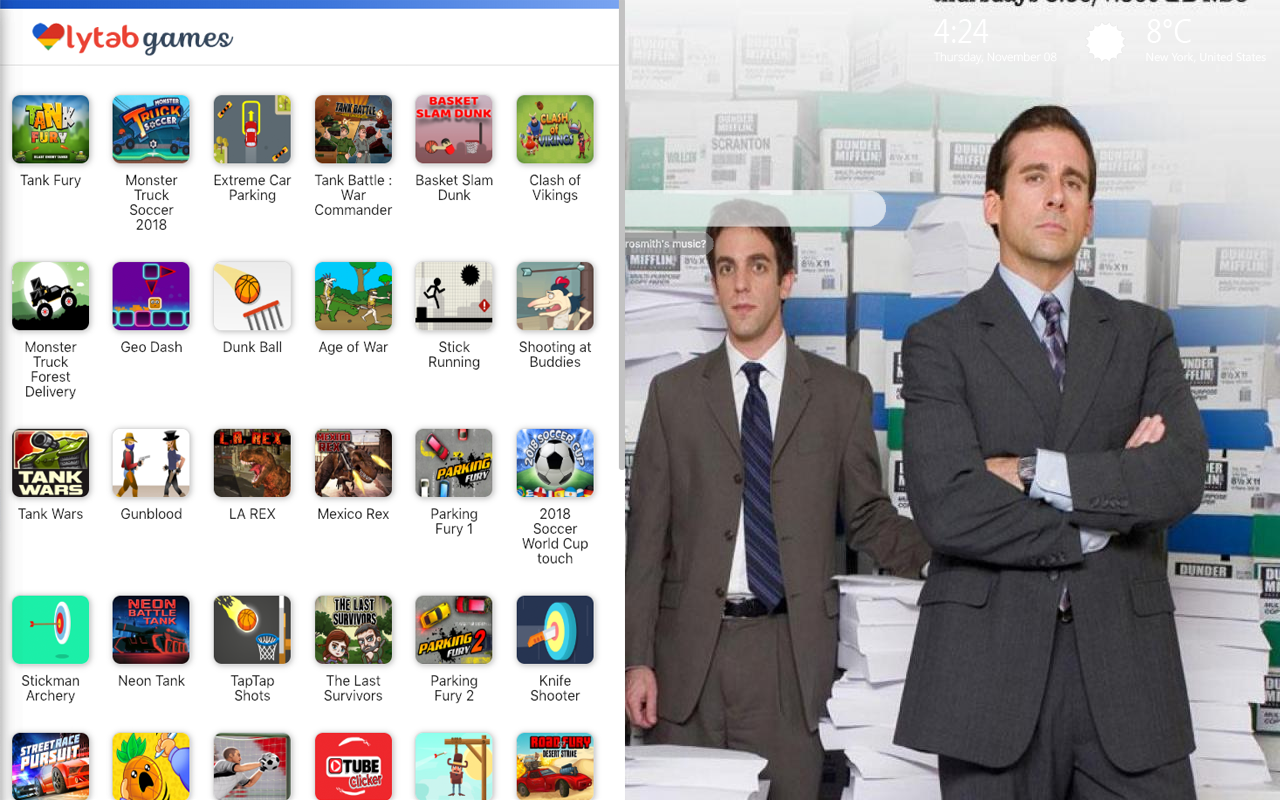 The Office Games Wallpaper