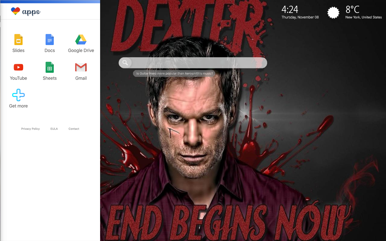 Dexter Settings Wallpaper