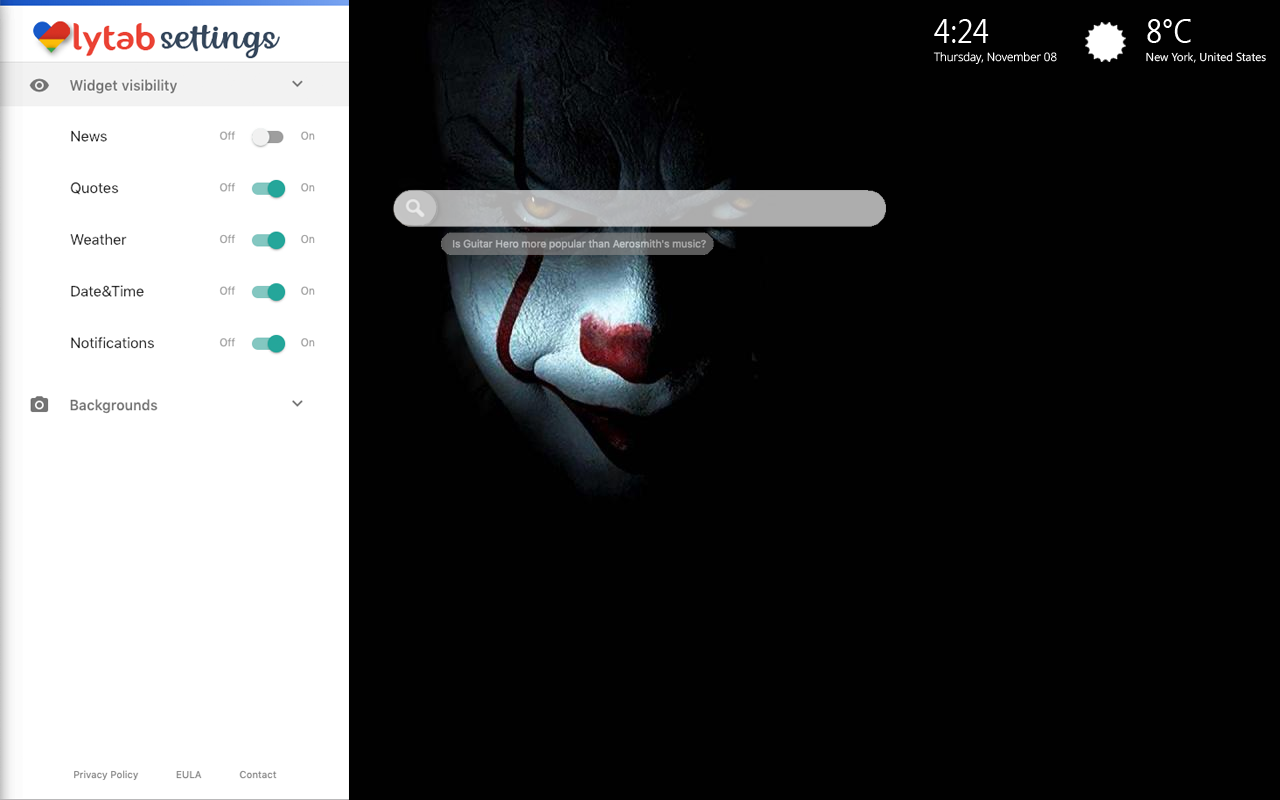 Scary Clowns & Creepy Clowns Settings Wallpaper