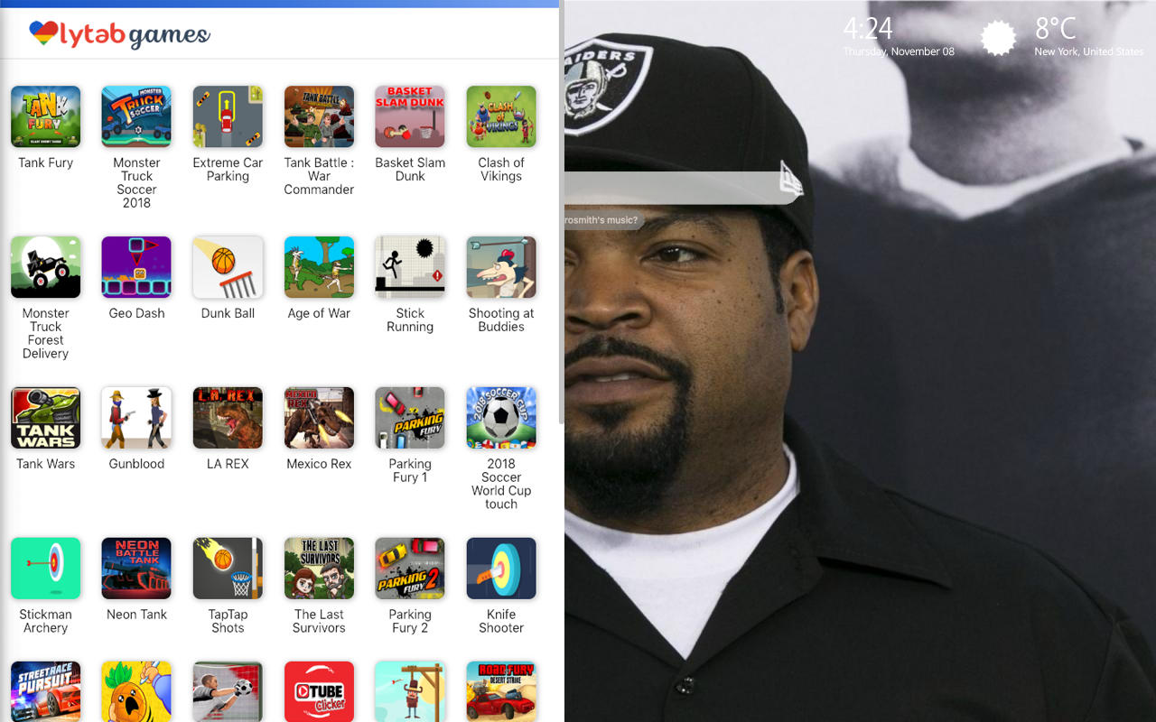 Ice Cube Games