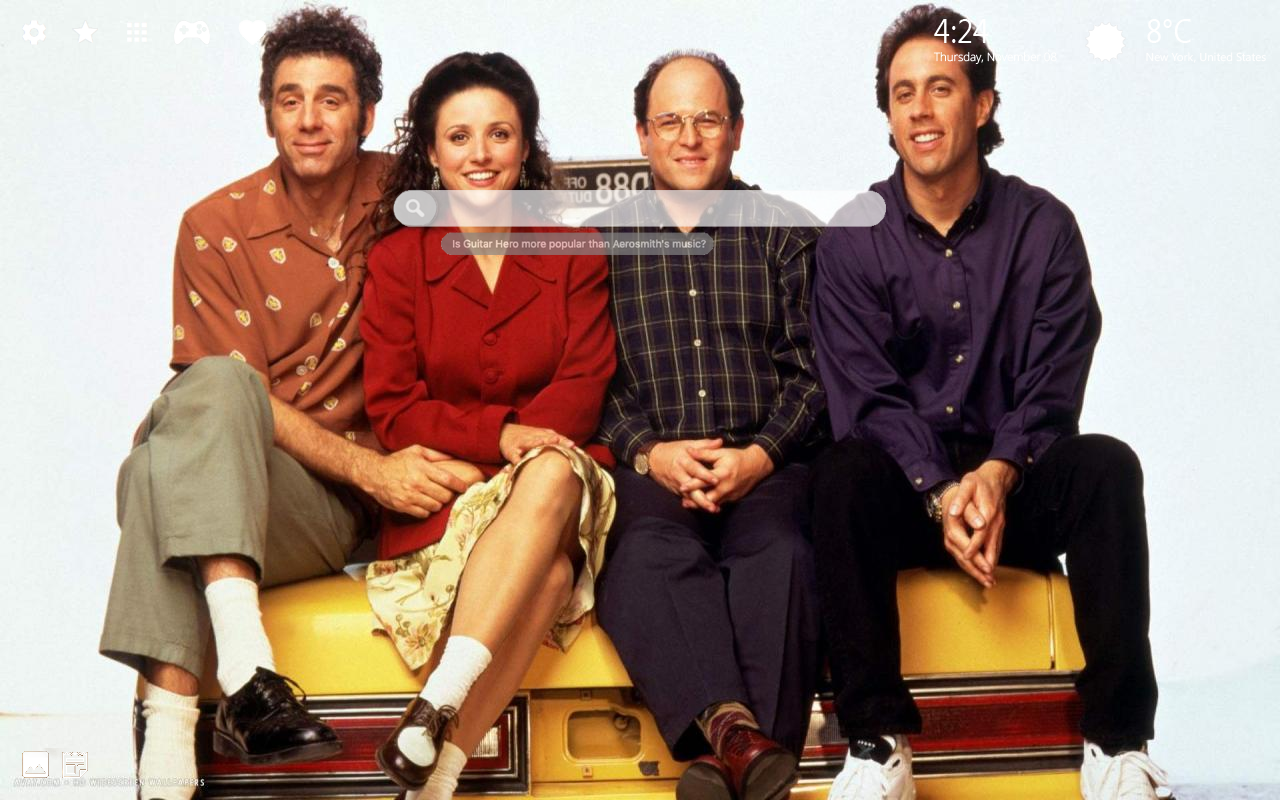 Seinfeld Home Wallpaper
