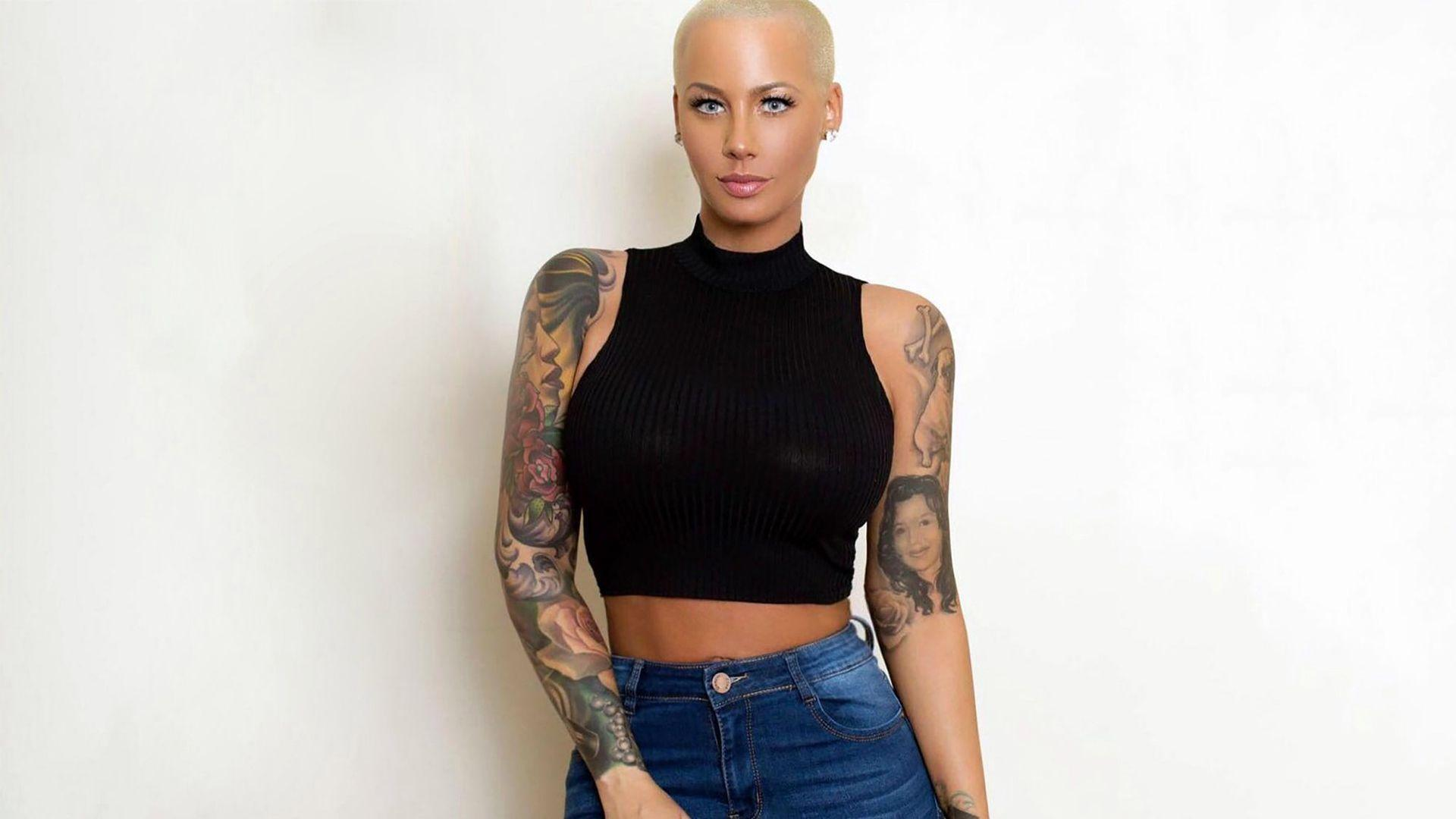 Amber Rose AE Edwards Wallpaper
